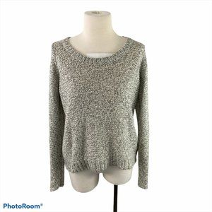 VERO MODA Grey Crew Neck Knit Sweater